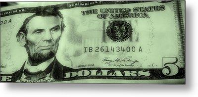 The Money Man Metal Print