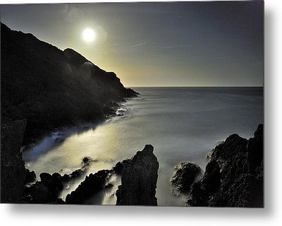 The Moon Metal Print by Guido Montanes Castillo