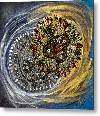 The Moon's Eclipse Metal Print by Apanaki Temitayo M