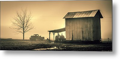 The Morning Fog Metal Print
