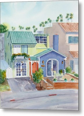 The Most Colorful Home In Belmont Shore Metal Print