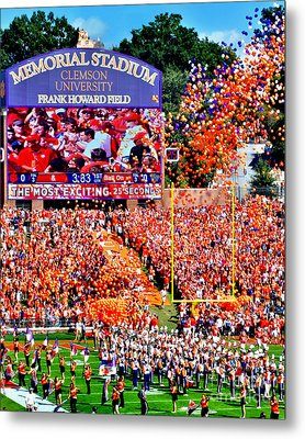 The Most Exciting 25 Seconds Metal Print