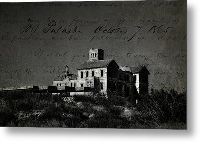 The Most Haunted House In Spain. Casa Encantada. Welcome To The Hell Metal Print