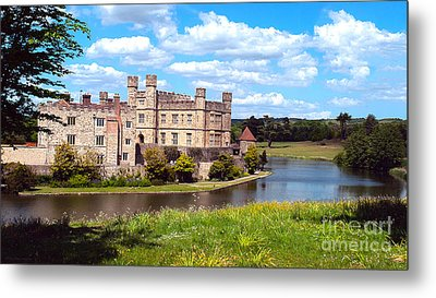 The Most Romantic Castle In England Metal Print by MaryJane Armstrong