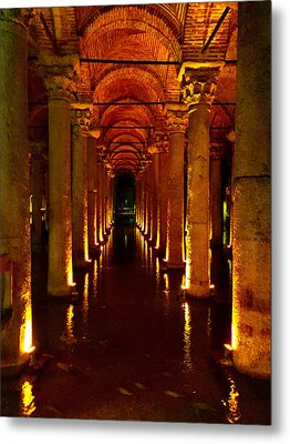 Metal Print featuring the photograph The Most Romantic Place Of Istanbul by Zafer Gurel