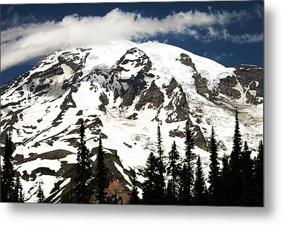 The Mountain Metal Print