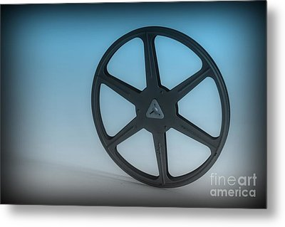 The Movie Reel Metal Print