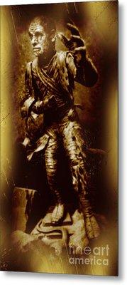 The Mummy Document Metal Print by John Malone