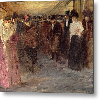 The Music Hall Metal Print by Jean Louis Forain