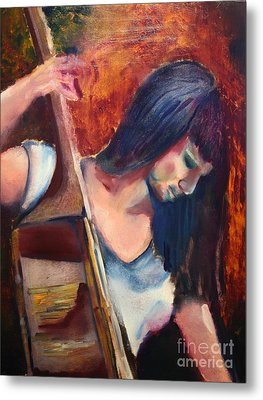 The Musician Metal Print by Michael Kulick
