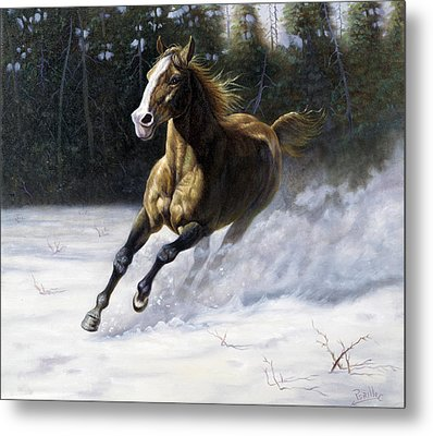 The Mustang Metal Print by Gregory Perillo