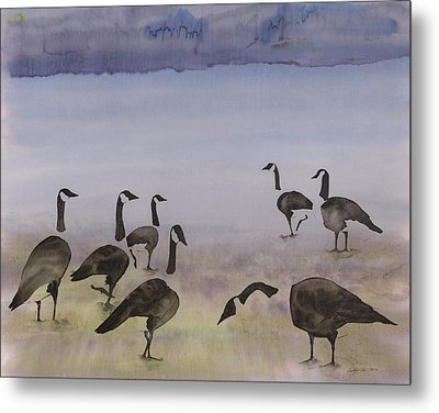 The Mysteries Of Miration 2 Metal Print by Carolyn Doe