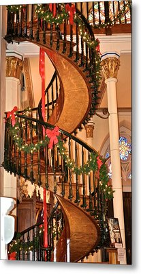 The Mysterious Miracle Staircase Metal Print