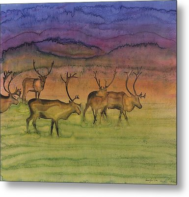 The Mystery Of Migration Metal Print by Carolyn Doe