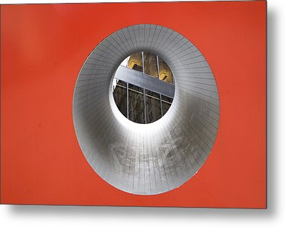The Narrow Perspective Metal Print by Joanna Madloch