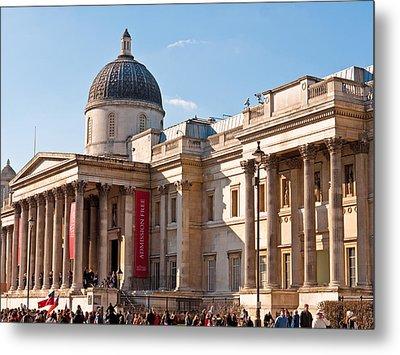 The National Gallery London Metal Print