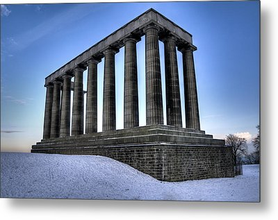The National Monument Metal Print