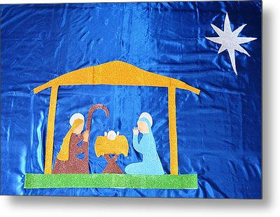 The Nativity  Metal Print by Magdalena Frohnsdorff