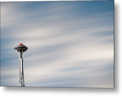 Metal Print featuring the photograph The Needle by Brian Bonham