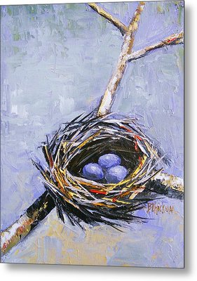 The Nest Metal Print by Brandi  Hickman