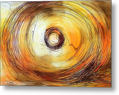 The Nest Metal Print by Pat Purdy