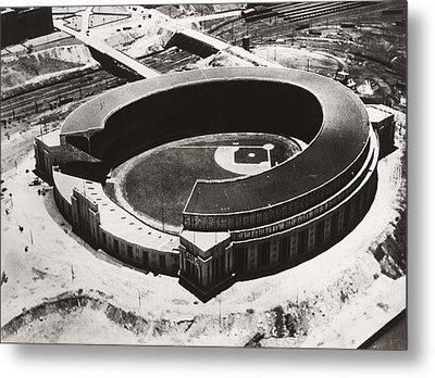 The New Cleveland Stadium Metal Print