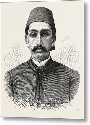 The New Sultan Of Turkey, Hamid II Metal Print