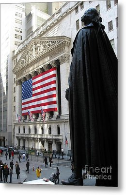The New York Stock Exchange Metal Print by RicardMN Photography