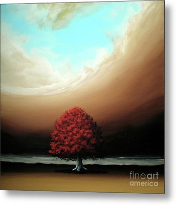 Metal Print featuring the painting The Noble Art Of Simplicity by Ric Nagualero