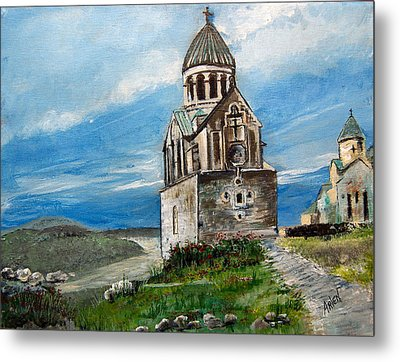The Noravank Monastery Metal Print