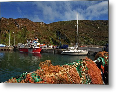 The North Harbour,cape Clear Metal Print by Panoramic Images