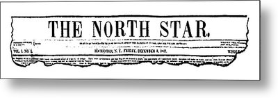 The North Star, 1847 Metal Print