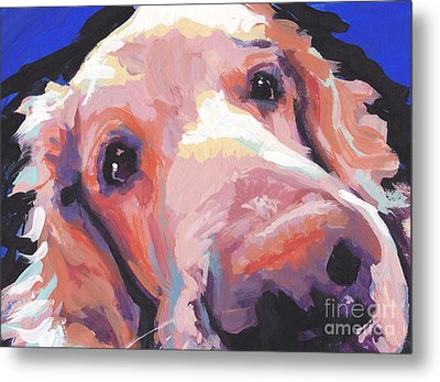 The Nose Knows Metal Print by Lea S
