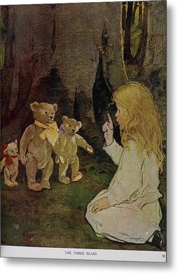 The Now-a-days Fairy Book Metal Print