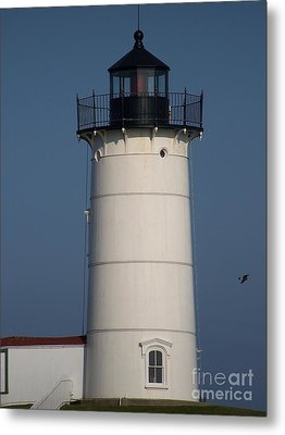 Metal Print featuring the photograph Lighthouse by Eunice Miller