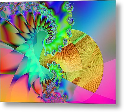 The Nudge Metal Print by Wendy J St Christopher