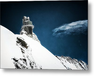 The Observatory Metal Print by Ryan Wyckoff