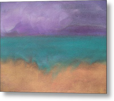 The Ocean Metal Print by Cynthea Greb