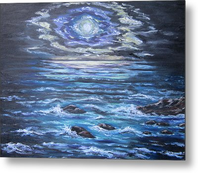 The Ocean Sings The Sky Listens 2 Metal Print by Cheryl Pettigrew
