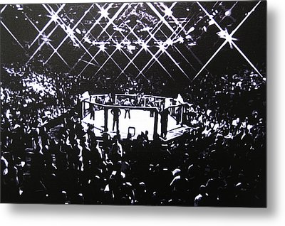 The Octagon Metal Print
