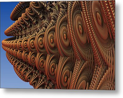 The Odd Beauty Of Fractals Metal Print by Lyle Hatch