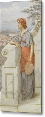 The Offering Metal Print by William Anstey Dolland