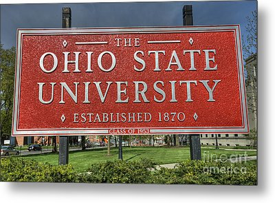 The Ohio State University Metal Print