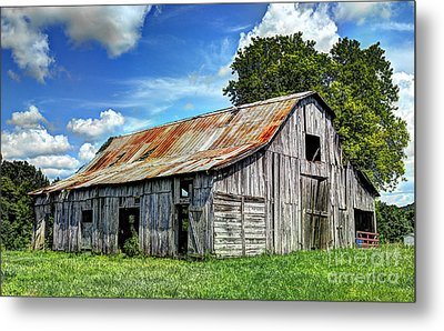 The Old Adkisson Barn Metal Print