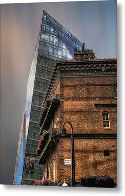 Metal Print featuring the photograph The Old And The New by Jim Hill