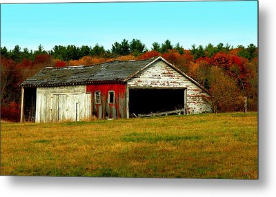 The Old Barn Metal Print by Bruce Carpenter