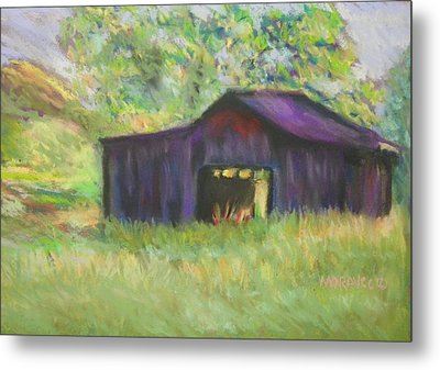 The Old Barn I Metal Print by Shirley Moravec