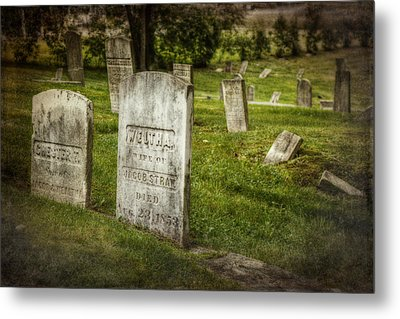 The Old Burial Ground Metal Print by Joan Carroll