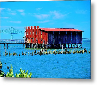 The Old Cannery Metal Print