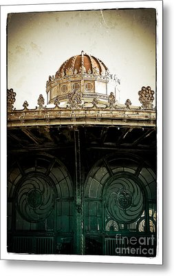 The Old Carousel House Metal Print